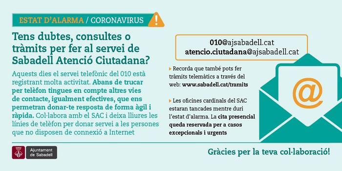 Servei de Sabadell Atenció Ciutadana