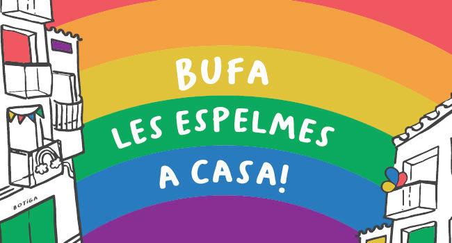 BUFA LES ESPELMES A CASA!