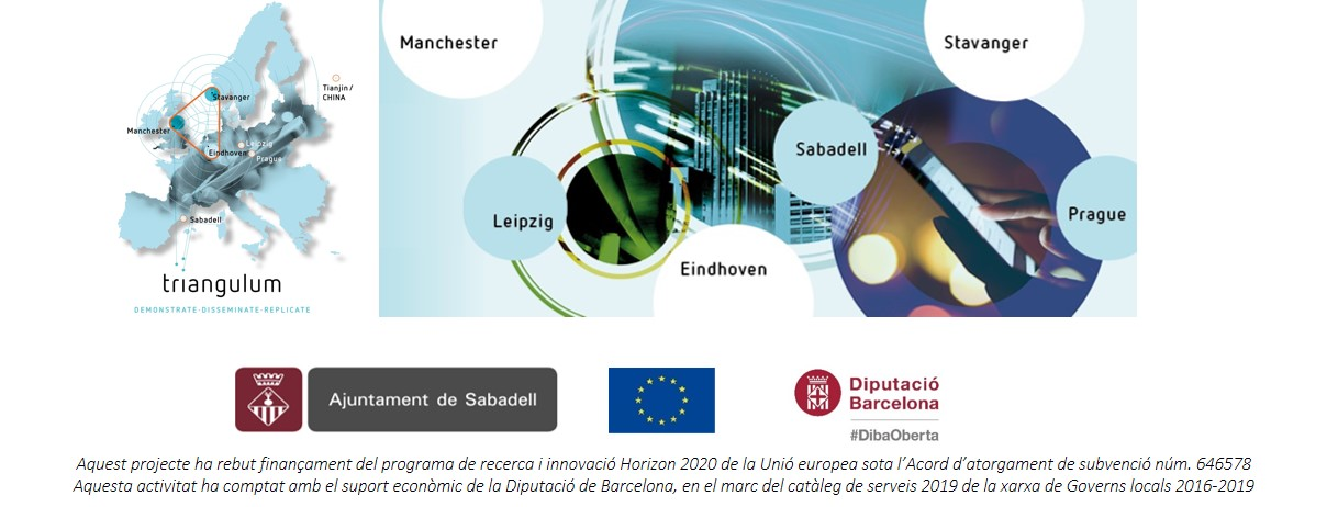 Dilluns 18-nov-19: Projecte europeu Triangulum. Taller final amb agents locals i de les ciutats