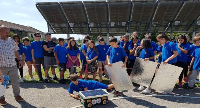 L'Escola Sant Julià guanya la 2a Cursa Solar de Sabadell