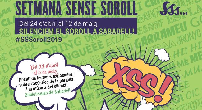 La importància del silenci, motiu principal de la 3a Setmana Sense Soroll a Sabadell