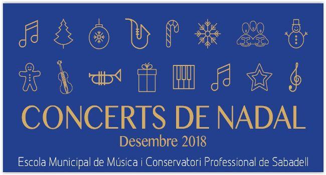 Els concerts de Nadal de l'Escola Municipal de Música i Conservatori inclouran 12 recitals de l'alumnat del centre