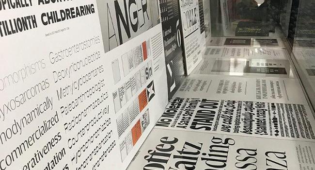 La mostra més rellevant de disseny tipogràfic aterra a l'Escola Illa