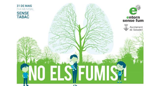 La commemoració del Dia Mundial sense Tabac concentra les activitats al barri de Can Puiggener