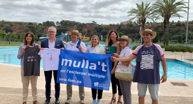 Sabadell s'adhereix a la campanya Mulla't per l'Esclerosi Múltiple del diumenge 14 de juliol
