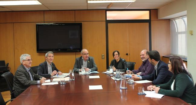 L'alcaldessa de Sabadell i el conseller de Territori i Sostenibilitat acorden la creació d'una comissió bilateral