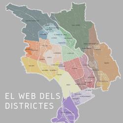 El web dels districtes