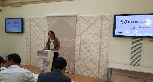 """Marta Farrés fa balanç dels primers 100 dies de gestió: """"No hem perdut el temps i ja estem en marxa"""""""