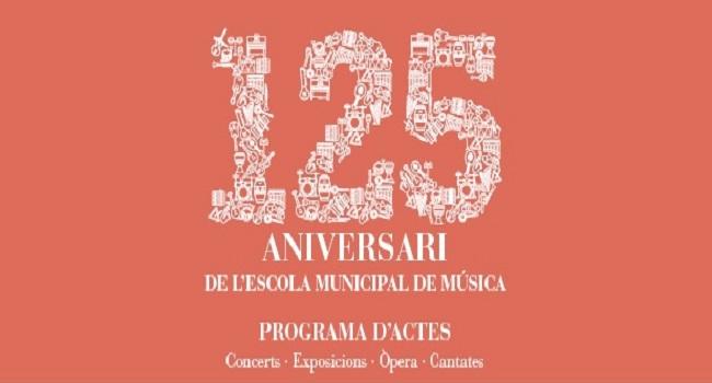 Actuació, demà divendres, del Cor Pax, en el marc de la celebració dels 125 anys de l'Escola de Música