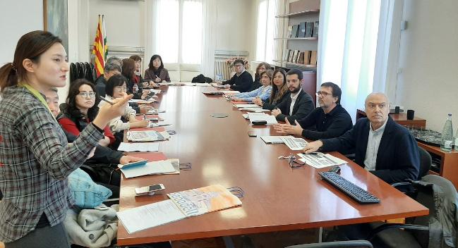 Una delegació coreana visita Sabadell per conèixer les polítiques municipals adreçades a la gent gran