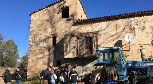 Visita a masies del rodal i a l'exposició d'Agustí Masvidal, en el marc de les Jornades Europees de Patrimoni (JEP)