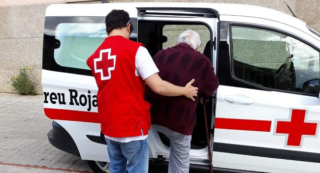 L'Ajuntament i la Creu Roja habiliten un servei de transport per a les persones amb mobilitat reduïda que vulguin anar a votar