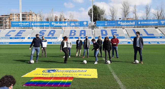 Sabadell celebra el Dia Internacional contra l'homofòbia a l'esport