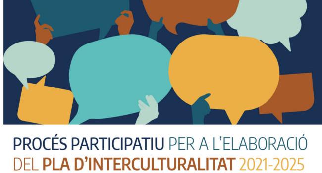 S'obre el procés participatiu per l'elaboració del Pla d'Interculturalitat 2021-2025