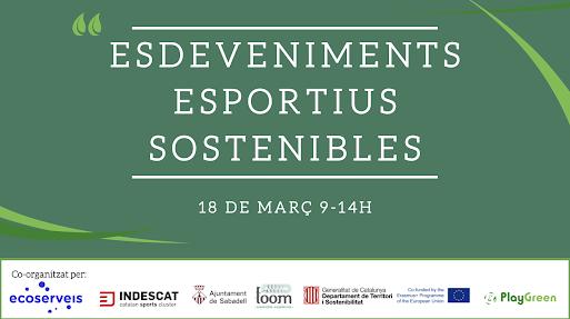 Especialistes del món de l'esport aportaran en una trobada virtual eines i coneixement per organitzar esdeveniments esportius més sostenibles