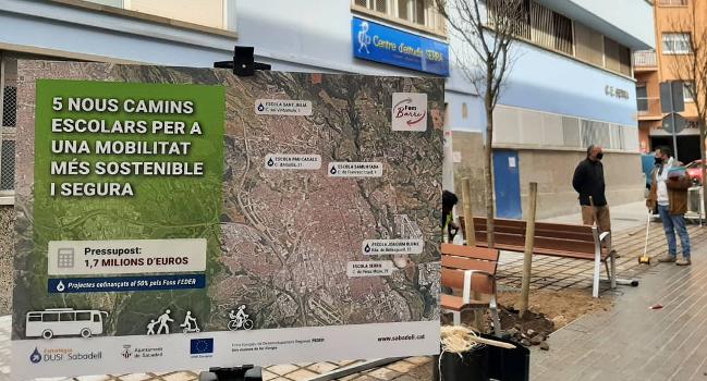 Les escoles Sant Julià, Samuntada i Joaquim Blume, primeres experiències d'una nova metodologia per abordar a partir d'ara els camins escolars de la ciutat