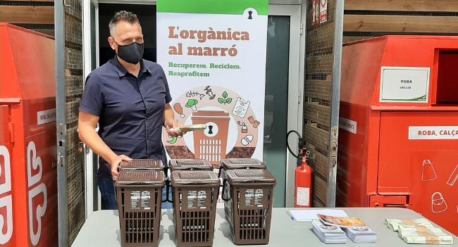 Nova campanya per fomentar la recollida de matèria orgànica, per fer-ne compost de qualitat