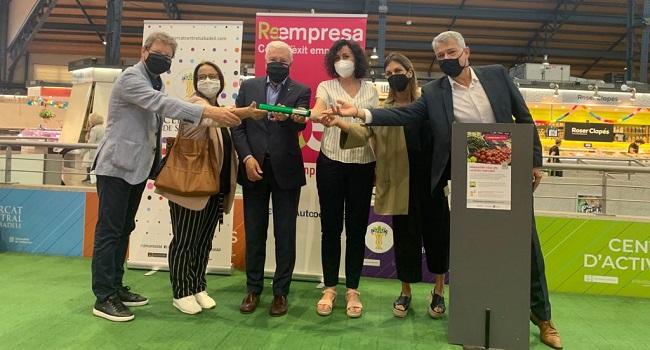 """El Mercat Central acull la presentació de """"Reempresa Mercats Municipals"""" per facilitar i millorar la transmissió i ocupació de les parades dels mercats de la província de Barcelona"""
