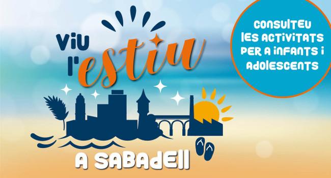 """L'Ajuntament aglutina propostes per a infants i adolescents al nou web """"Viu l'Estiu a Sabadell"""""""