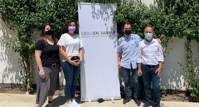 L'entitat Sabadell en Xarxa i l'Ajuntament impulsen la integració del comerç local en el Marketplace Cliccat