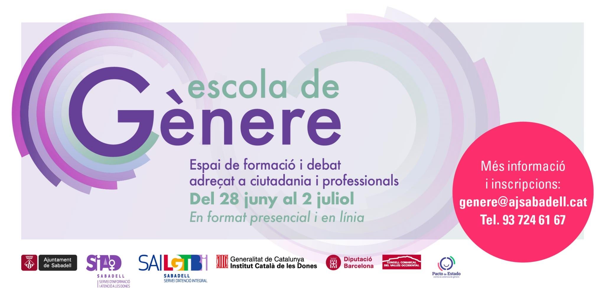 """L'Escola de Gènere arrenca amb el taller en línia """"Feminismes per a principiants"""""""
