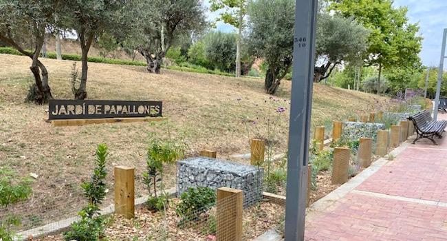 Sabadell crea el primer Jardí de papallones de la ciutat al Parc de Catalunya