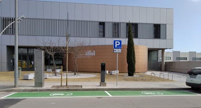 La ciutat disposarà l'any vinent de quatre punts més de recàrrega de vehicles elèctrics