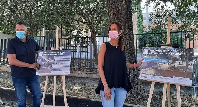 La reforma del carrer de Goya donarà lloc a una nova rambla al sud de la ciutat i donarà resposta a una antiga demanda veïnal