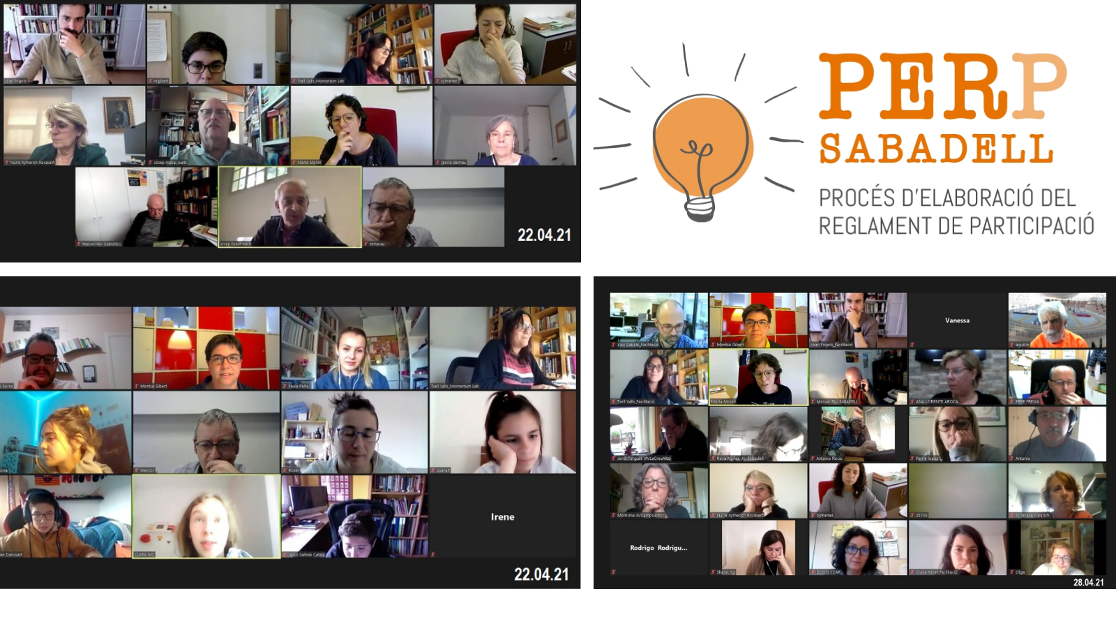 Més de 600 persones prenen part en el procés participatiu d'elaboració del reglament de Participació Ciutadana