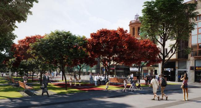 La Junta de Govern Local aprova o adjudica projectes de millora de l'espai públic o equipaments per un valor superior als 2,67 milions d'euros