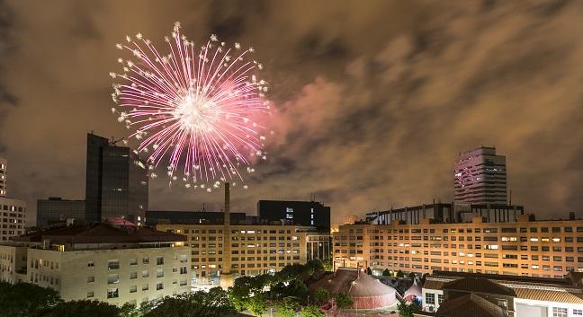 El castell de focs canvia el seu format habitual i es farà des de tres punts de la ciutat, a més de la retransmissió en directe