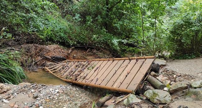 El torrent de Colobrers estarà tancat temporalment per reparar els danys causats per les fortes pluges