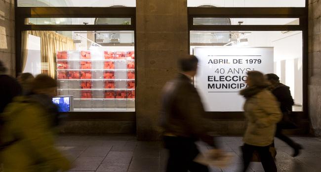 L'exposició que commemora els 40 anys de les eleccions municipals a Sabadell recorrerà per diferents barris