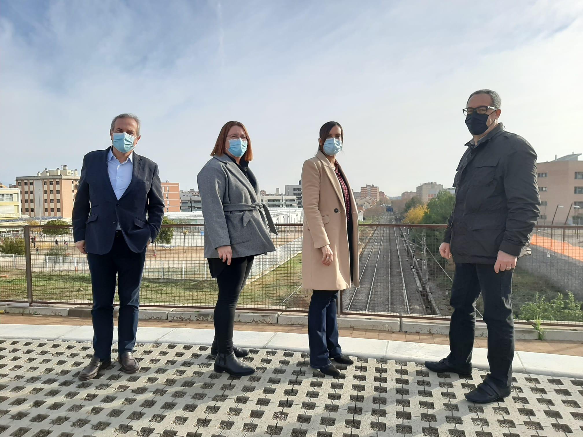 Sabadell analitza la inclusió de l'estació de Can Llong en el Pla de Rodalies