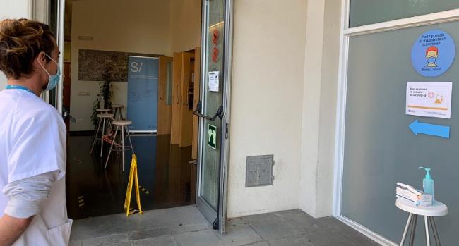 L'Ajuntament cedeix al departament de Salut un espai per fer proves de detecció de la Covid-19