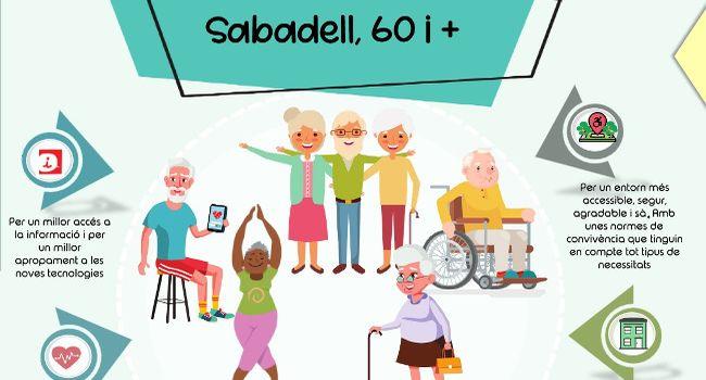 El nou Pla 60 i + recull una vuitantena d'accions per crear entorns i serveis que promoguin l'envelliment actiu i saludable