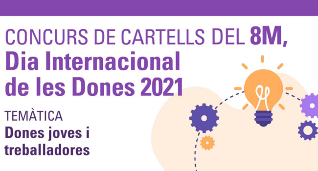 S'obre el període de sol·licituds per participar al concurs de cartells per commemorar el 8M, el Dia Internacional de les Dones 2021 a Sabadell