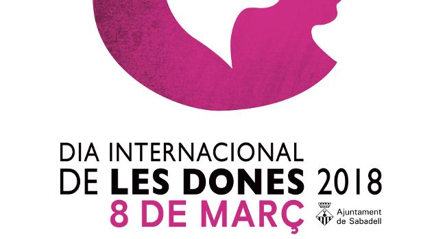 Una proposta de Cristóbal Aguiló,  imatge del cartell anunciador dels actes del 8 de març