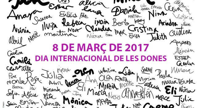 La commemoració del 8 de març, Dia Internacional de la Dona, reivindica el paper del treball domèstic