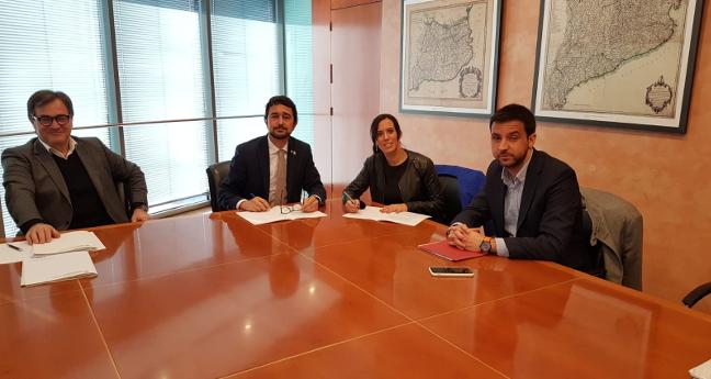 Sabadell signa l'adhesió a la Declaració per una Agenda Urbana de Catalunya