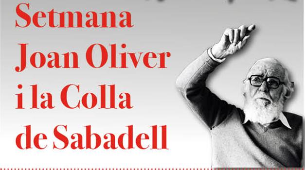 La Setmana Joan Oliver i la Colla de Sabadell inclou una desena d'actes diversos