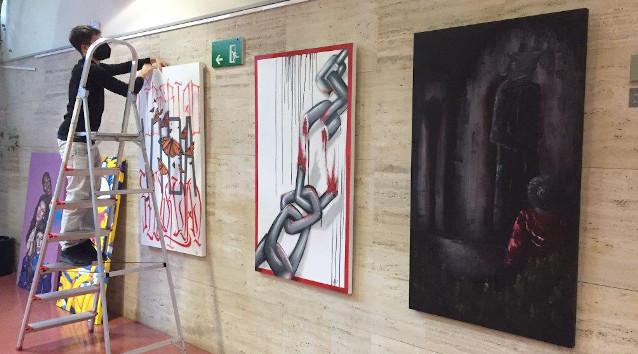 """L'exposició """"Grafits pels drets humans"""" recorrerà diferents equipaments de la ciutat oferint una mirada artística i reivindicativa sobre la igualtat de drets"""