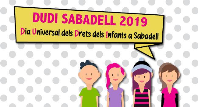 Sabadell celebra demà dissabte l'acte central del Dia Universal dels Drets de la Infància
