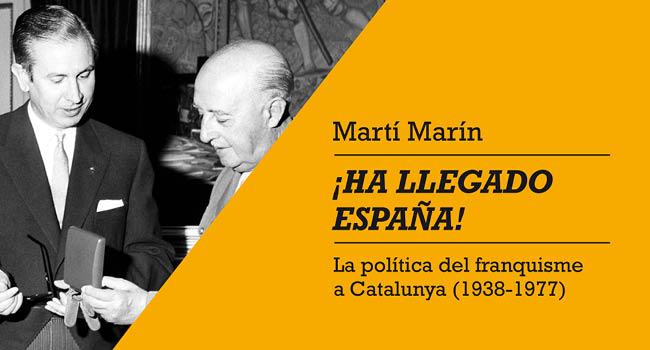 Presentació d'un llibre de l'historiador sabadellenc Martí Marín sobre el franquisme, al Museu d'Història
