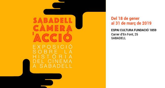 Una exposició repassarà la història del cinema a Sabadell des dels orígens fins avui