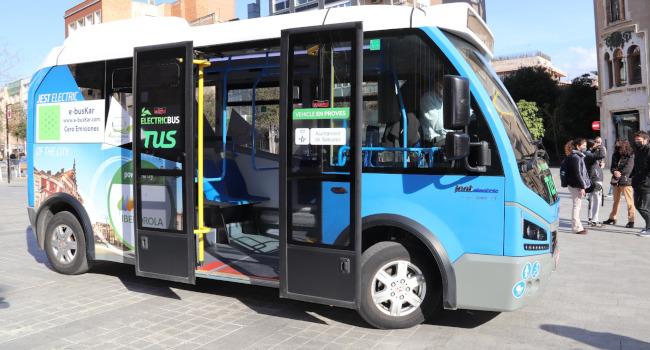 Sabadell prova un autobús elèctric per estudiar-ne la viabilitat