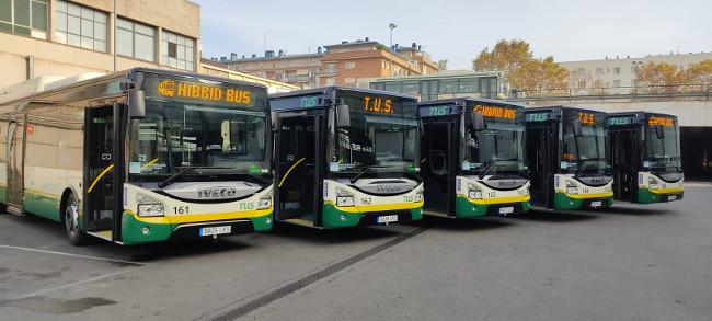 Sabadell incorpora 5 nous autobusos híbrids més