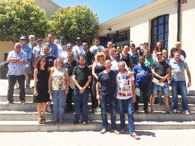 Prop de 50 persones participen en la cloenda dels programes de Treball i Formació