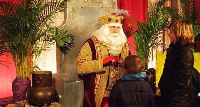 L'Ambaixador reial s'instal·larà al Jardí de l'Espai Cultura i vindrà acompanyat de deu carters