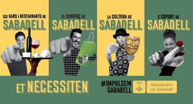 Sabadell posa en marxa una campanya de promoció per donar suport al comerç, la restauració, la cultura i l'esport